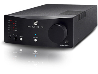 Simaudio/MOON 230HAT headphone amplifier with built-in DAC