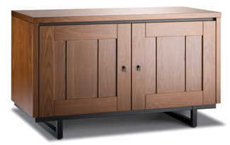 Salamander Designs Geneva Twin 221 entertainment center