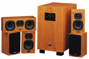 Quad L-ite home theater loudspeaker system