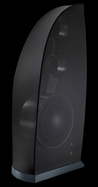 Gallo Reference 3.5 loudspeaker with grille